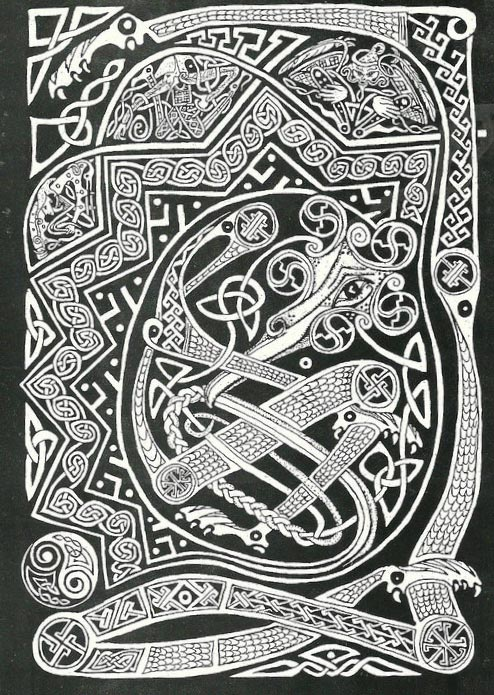 celtic/persia related  interlace